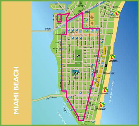 miami map maps update 7001118 miami tourist map 17 toprated