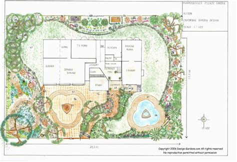 Garden Design Layout Landscape Design To Remodel Your Garden