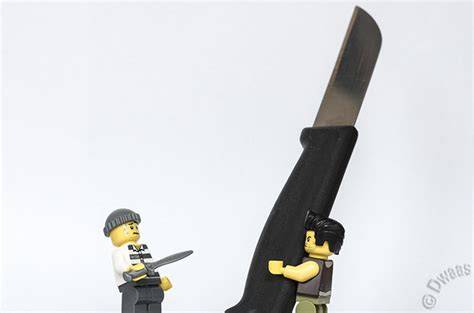 Day 101 - That is not a knife... - Foolish Lego