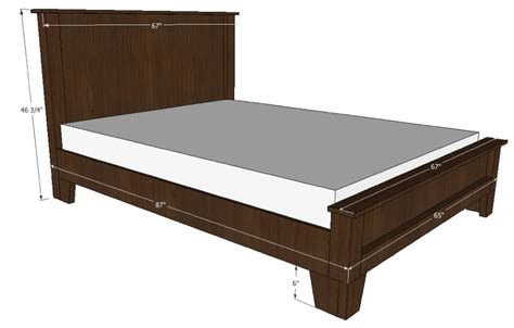 Free Bed Frame Bed Frame Wood Plans Home Design Ideas