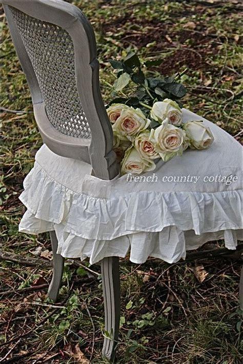 creamy roses ruffles exercise   slipcovers