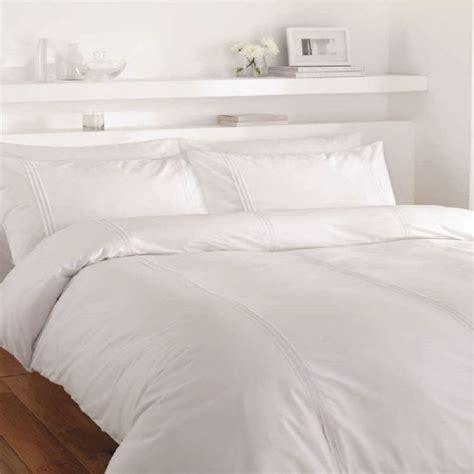 Plain White Duvet Cover minimalist plain white duvet cover set tonys textiles