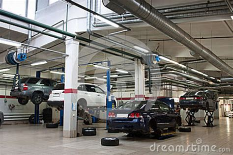 repair garage royalty free stock photos image 26363558