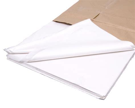 Tissue Paper - 480x white tissue paper 20x30 500x750mm 163 6 26 poly
