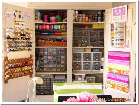 room organization tips my craft cabinet up and personal in my own style