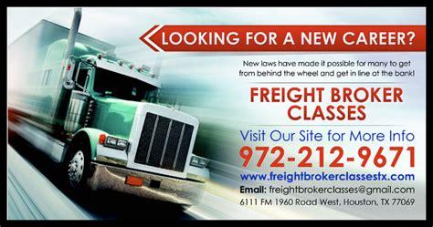 freight broker classes houston home