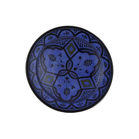 Handmade Plate - moroccan handmade ceramic appetizer plate blue