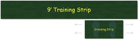 practice putting green strip golf training aids
