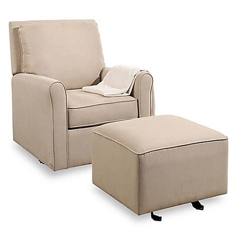 swivel glider and ottoman set buy abbyson living silo swivel glider and ottoman set in