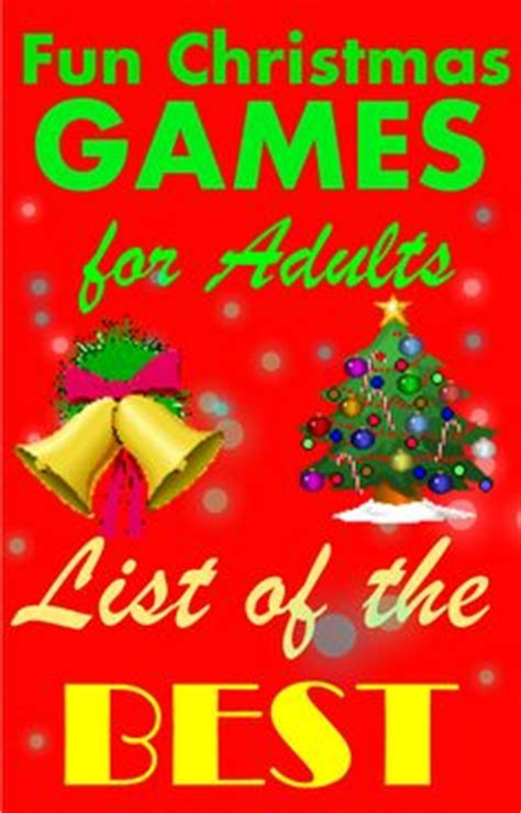 1000 images about fun christmas games for adults on
