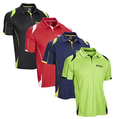 joola table tennis clothing joola emox table tennis shirts