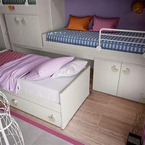 letti estraibili per bambini cameretta con due letti a soppalco camerette a prezzi