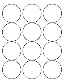 template for circle labels label templates ol350 2 5 quot circle labels