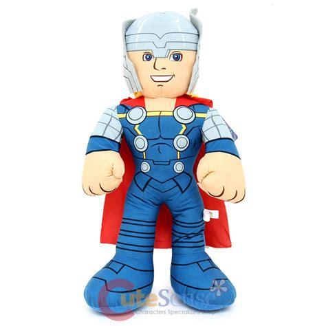 Marvel Comic Thor Plush Doll marvel thor jumbo plush doll 24 quot bedding cuddle pillow ebay