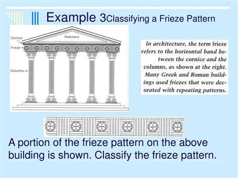 frieze pattern exles frieze pattern architecture 59791 notefolio