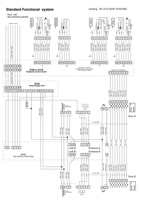 srs intercom wiring diagram m s mc800 intercom wiring