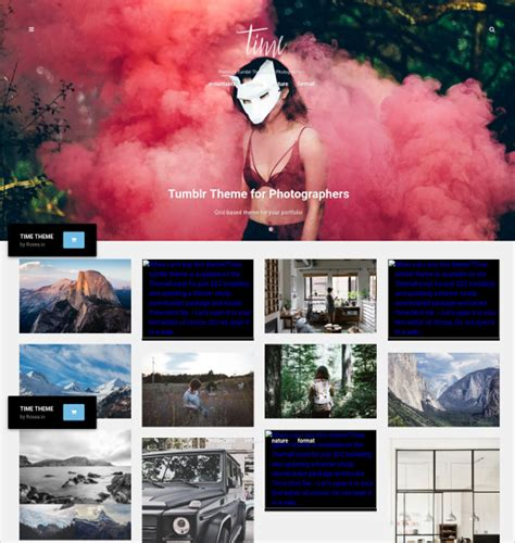 themes for tumblr portfolio 17 photography tumblr themes templates free premium