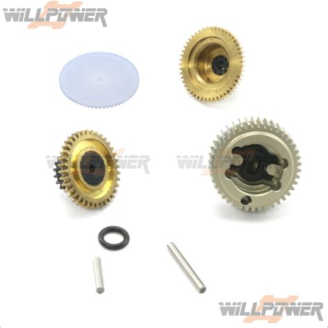 Gear Setgir Set Tiger 1 gear set for no 8126 8127 aq1433 rc willpower ds1015 thunder tiger acerc ebay