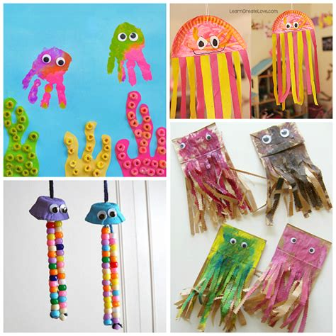 Wiggly Jellyfish Crafts for Kids to Make   Crafty Morning