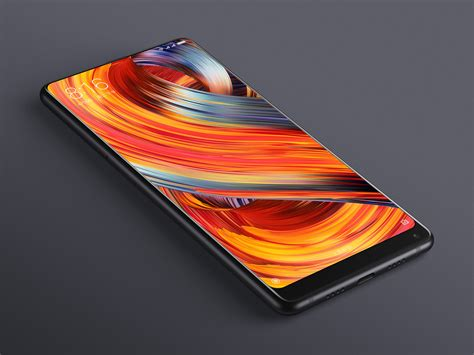 2 Mix One xiaomi launches mi mix 2 with almost bezel less display