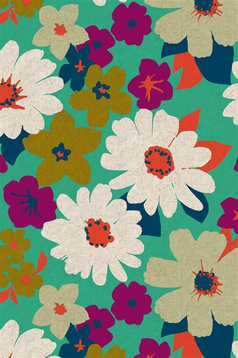 download tema line android vintage flower イラスト 花の壁紙 iphone壁紙ギャラリー