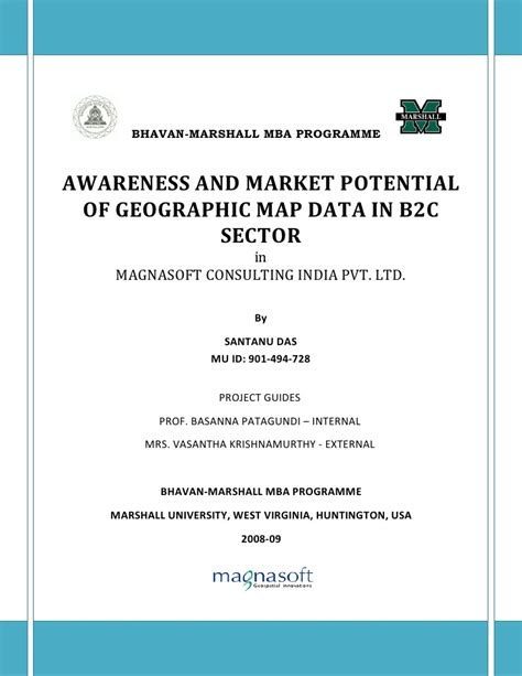 Mba Marketing Internship Project Reports by Mba Internship Report Customer Awareness And Market