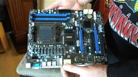 reset bios msi 970a g43 msi 970a g46 am3 amd 970 motherboard unboxing review and