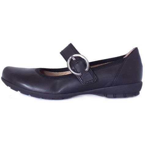 comfortable mary jane heels gabor biss comfortable mary jane flats in black mozimo
