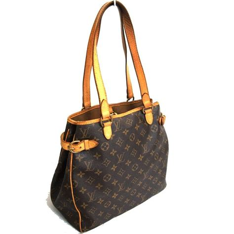 auth louis vuitton monogram batignolles vertical
