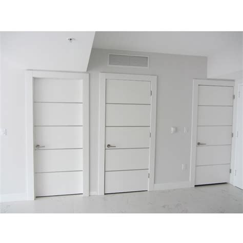 Modern White Interior Doors Dayoris Doors Frosty Glossy White Wooden Flush Doors Brickell Miami Light Color Flush Doors