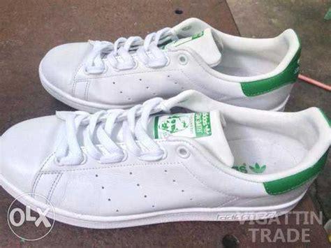 Jam Adidas Stan Smith Original White Green adidas stan smith leather original green white vigattin trade