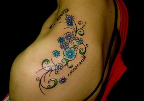 37 precious flower tattoo designs creativefan