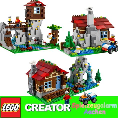 Brenda Set 3in1 lego 31025 creator 3in1 bergh 252 tte bergwarte blockhaus