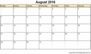 August 2016 free printable calendars printable calendar