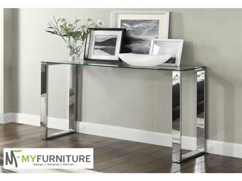 modern glass console table furniture furniture unique modern glass console table