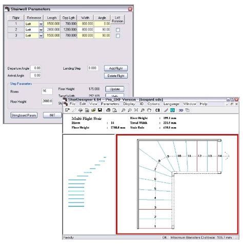 stair design calculator stairdesigner software stair design software