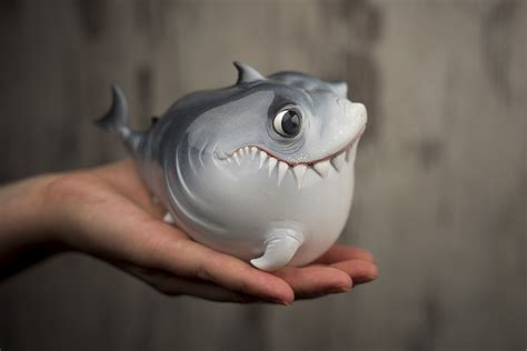 baby shark original version first series baby shark standing option by katyushka art