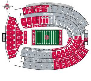 Ohio State Stadium Map by Osu Fans Asked To Wear Scarlet Amp Gray For Season Opener