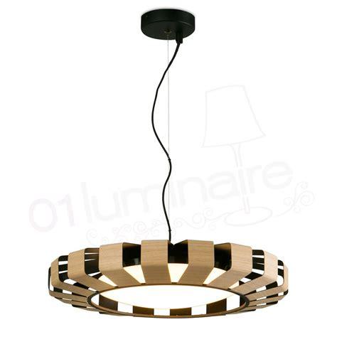 eclairage led dimmable suspension pauline en bois avec 233 clairage led dimmable faro