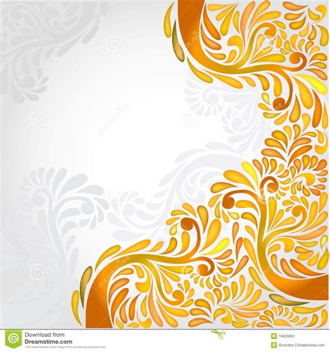 pattern yellow and orange yellow background orange banner pattern stock vector
