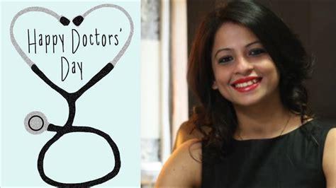Yzw Oneck Day a peek into my daily on doctor s day dietitian shreya