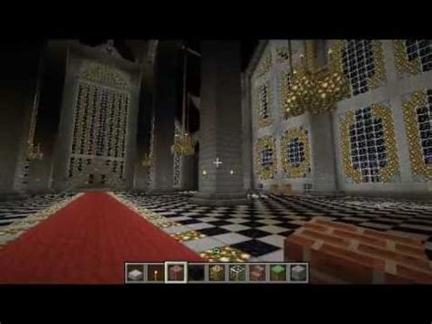 Minecraft Throne Room by Epic Minecraft Town Part 8 The Throne Room Is Completed