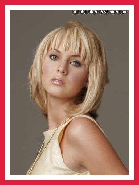haircuts for women over 40 with bangs medium length medium hairstyles with bangs for women over 40 with fine