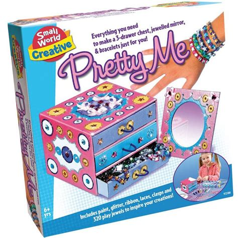 jewelry kit for 10 year pretty me jewelry box and mirror decorating craft kit