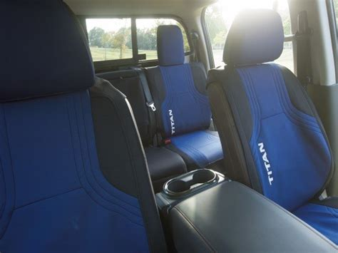 nissan titan seat cover removal genuine nissan water resistant seat cover suit blue