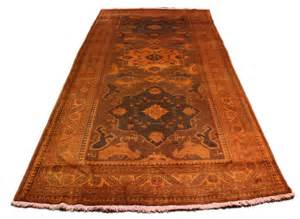 burnt orange rugs 5x10 vintage overdyed burnt orange rug gallery
