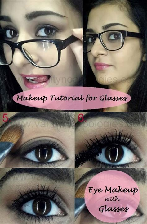 tuesday tutorial 4 makeup tips for four eyed gals 38 makeup tips for glasses page 4 of 8 the goddess