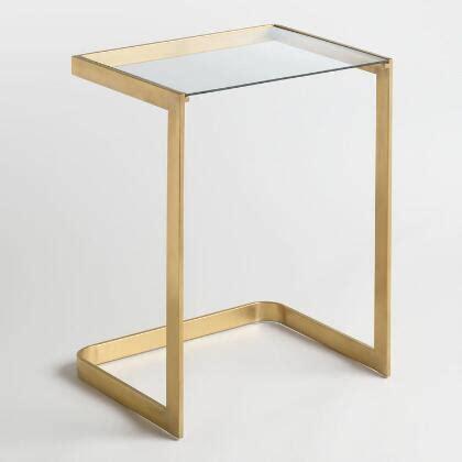 small mahogany chloe accent table world market tall chloe accent table world market