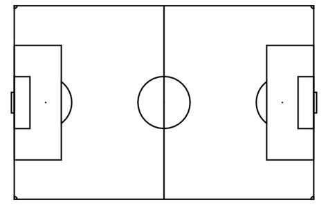 Soccer Pitch Template by Soccer Field Clip At Clker Vector Clip