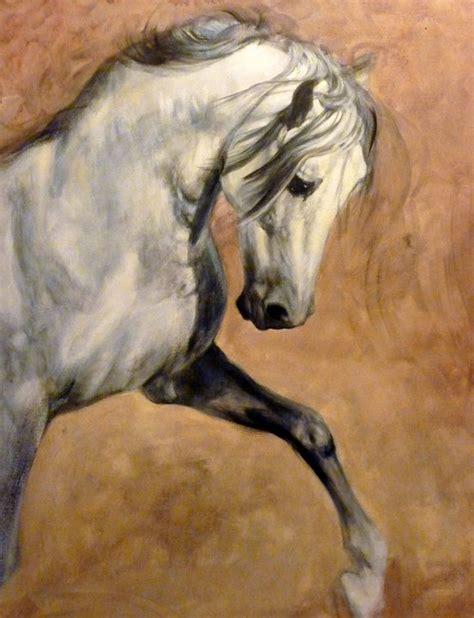 painting horses judi pyrah artist alan m hunt wildlife artist